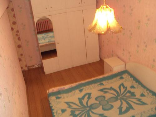 спальня квартиры посуточно на правом берегу в Красноярске