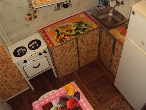кухня в квартире на сутки на 52Квартале в Ленинском районе Красноярска