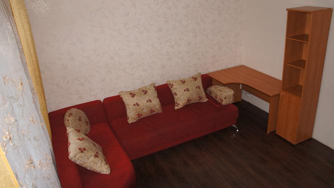 зал квартиры посуточно на Алексеева, д25 в Красноярске