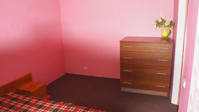 комод в спальне квартиры на сутки на Алексеева
