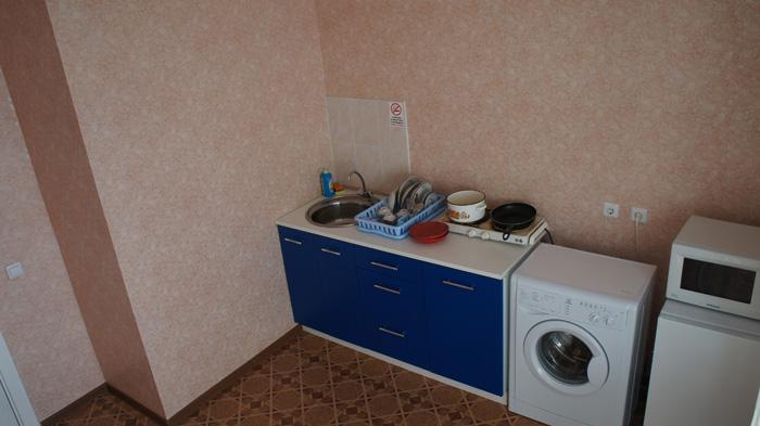стиральная машинка и микроволновка