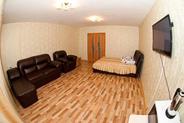 Двухместный номер гостиницы в квартирах в Красноярске