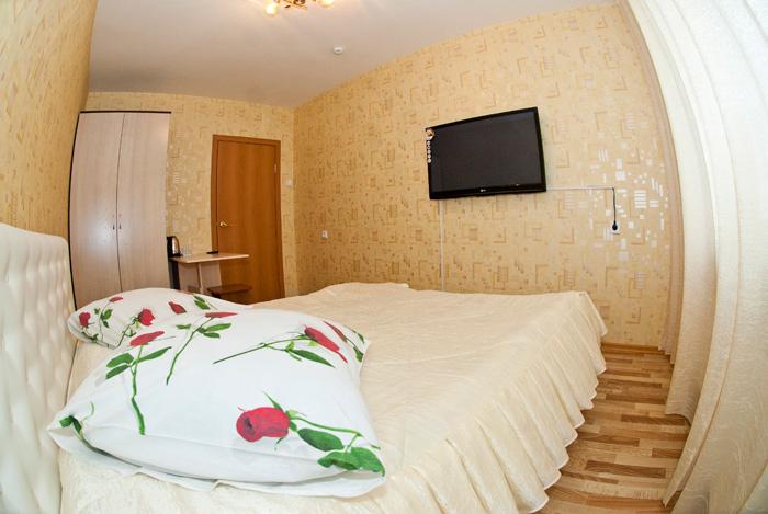 Двухместный номер гостиницы в квартирах в Красноярске в Советском районе