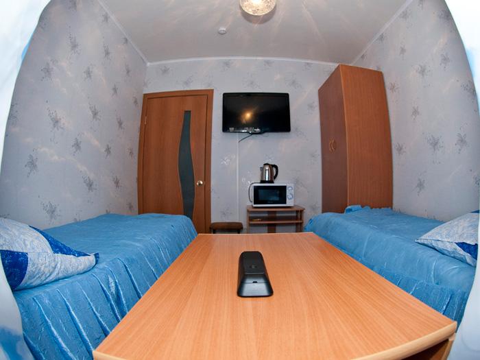 Комфортная гостиница в квартирах на левом берегу в Красноярске