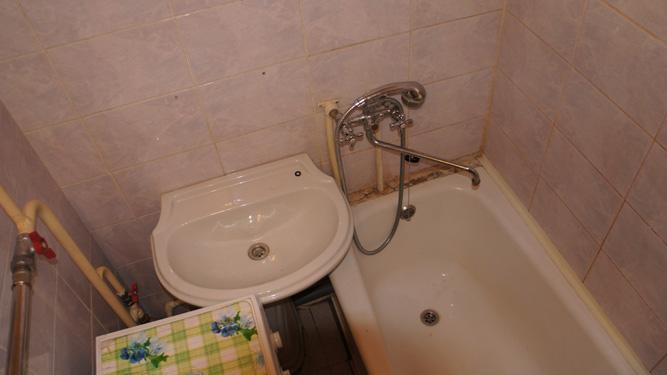 ванная квартиры посуточно в Красноярске в пер.Кочубея на правом берегу