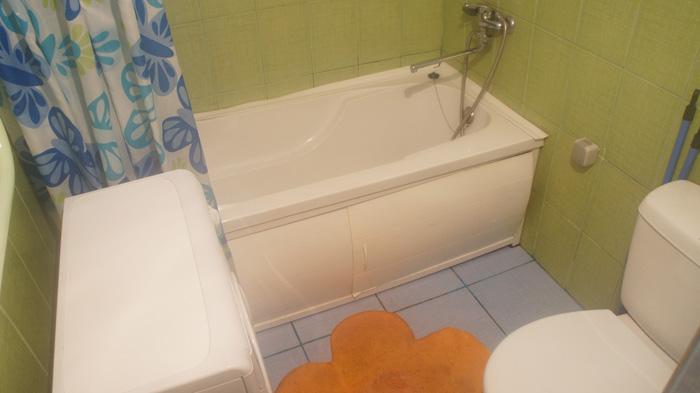 ванная квартиры на Ладо-Кецховели