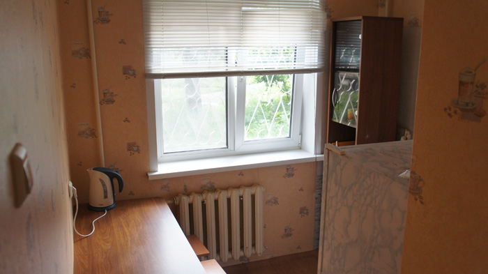 кухня квартиры на сутки в Красноярске