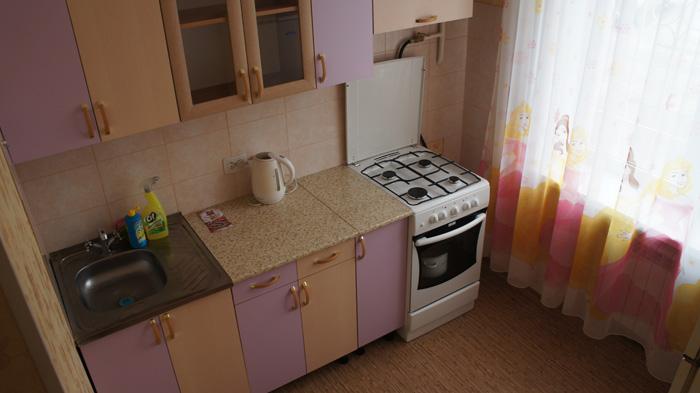 кухня в квартире на Мичурина
