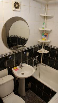ванная посуточной квартиры
