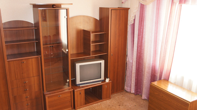 2-комнатная квартира на сутки в Красноярске на правом берегу