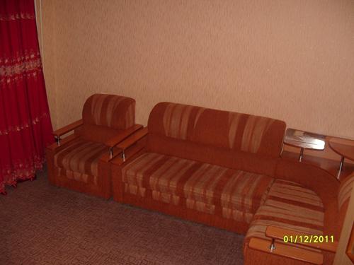 диван в квартире посуточно на ул.Судостроиельная 66