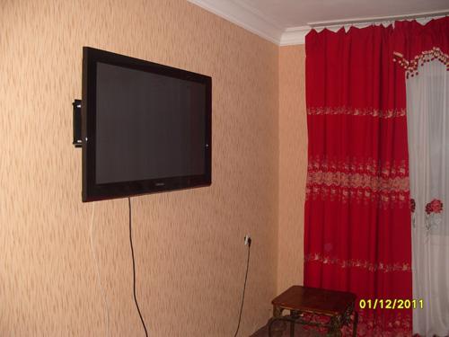 плазменная панель в посуточной квартире в Красноярске на правом берегу