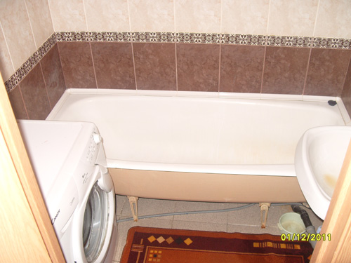 ванная комната посуточной квартиры в Красноярске на правом берегу