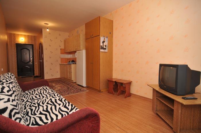 аренда посуточной квартиры в Советском район на левом берегу Красноярска