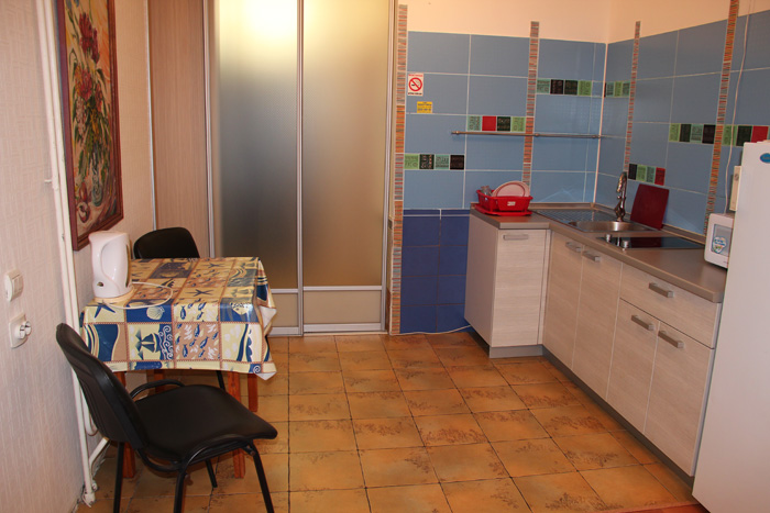 кухня, микроволновка