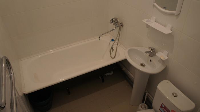 ванная комната квартиры на Юности